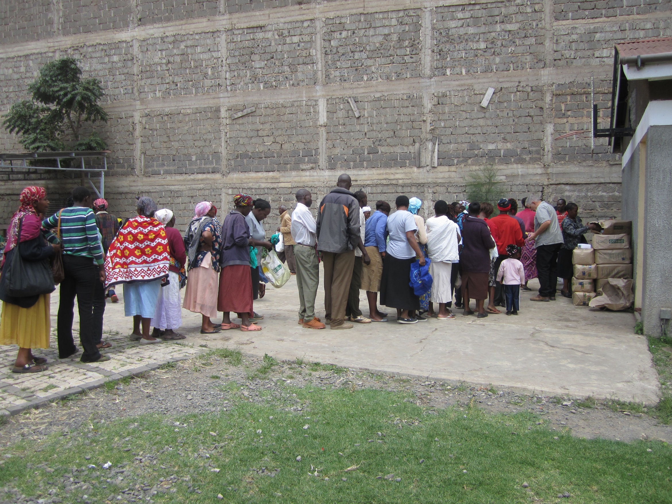 Food Distribution for People Living with HIV/AIDS