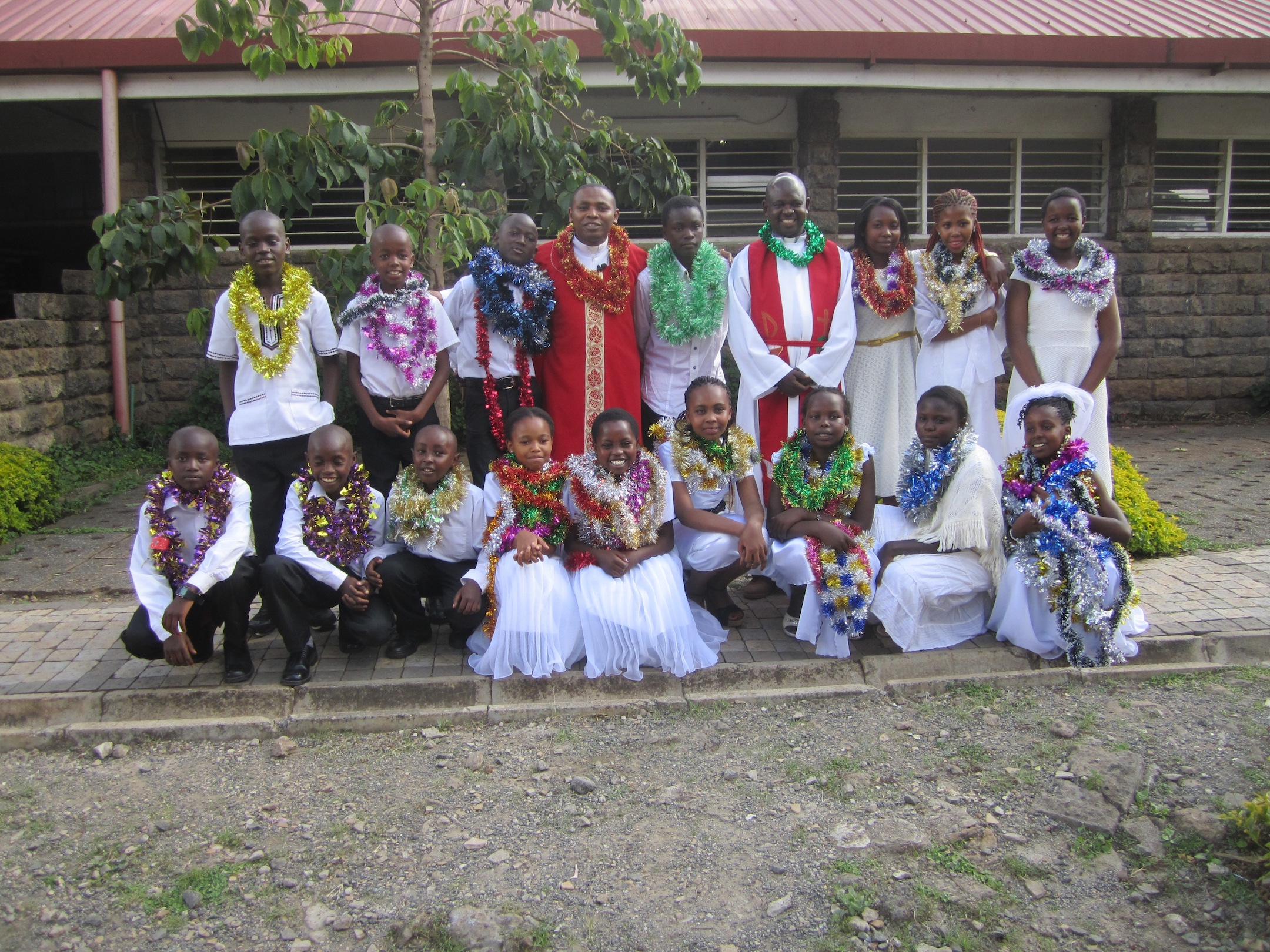 Confirmation celebrations in KELC
